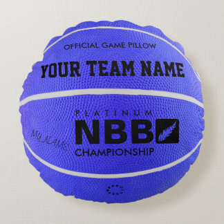 BASKETBALL OFFICIAL GAME PILLOW Blue D wl