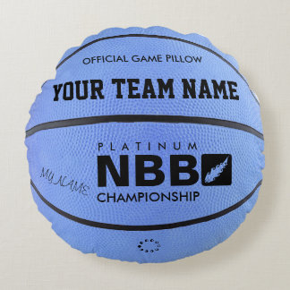 BASKETBALL OFFICIAL GAME PILLOW Blue M bl
