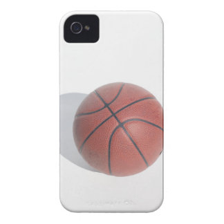 Basketball on white background iPhone 4 cover