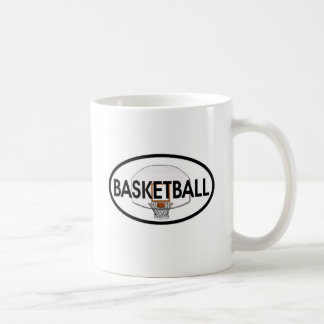 Basketball Oval Coffee Mug