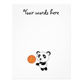 Basketball panda flyer