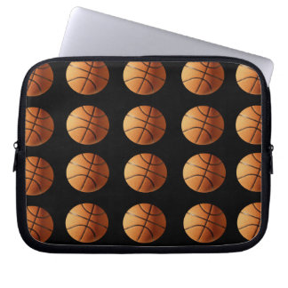 Basketball_Pattern,_10_inch_Laptop_Sleeve Laptop Sleeve