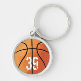 Basketball (Personalizable) Key Chains