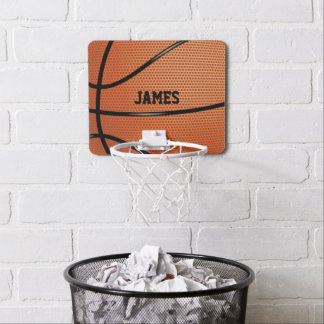 Basketball Personalized Sports Themed Mini Basketball Hoop