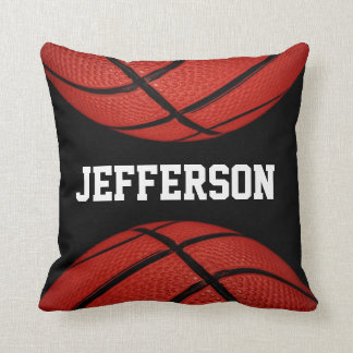 Basketball Personalized with name Cushion
