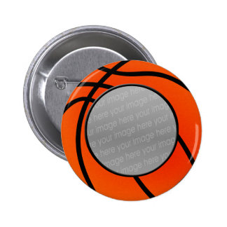 basketball photo button