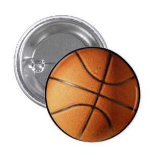 Basketball Pin-on Button
