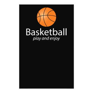 Basketball: play and enjoy 14 cm x 21.5 cm flyer
