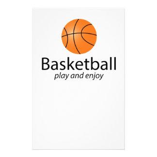 Basketball: play and enjoy flyer design
