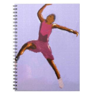 Basketball Play Art Notebook