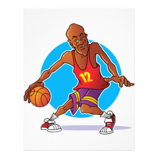 Basketball Player 21.5 Cm X 28 Cm Flyer