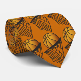 Basketball Player Dunk It Tie