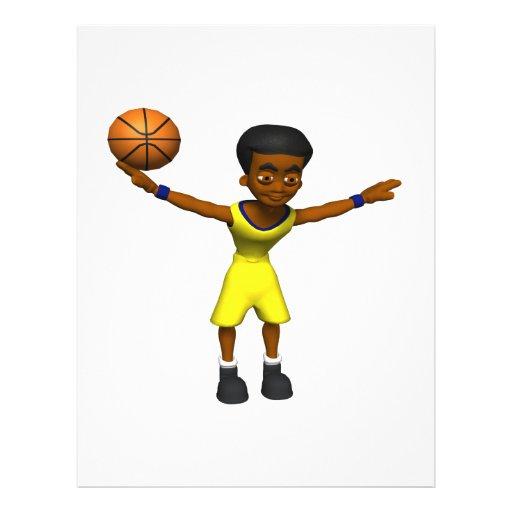 Basketball Player Flyer