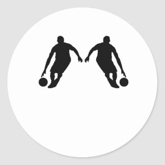 Basketball Player Mirror Image Stickers