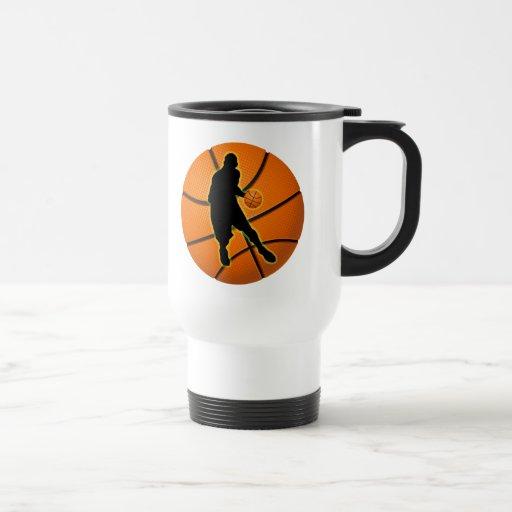 BASKETBALL PLAYER COFFEE MUGS