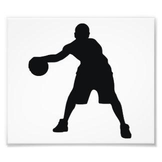 Basketball Player Photo Print
