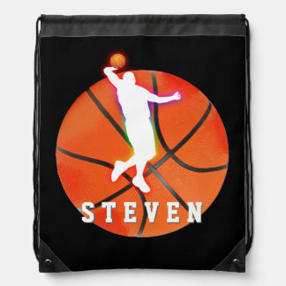 Basketball Player | Sport Gift Drawstring Bags
