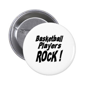 Basketball Players Rock Button