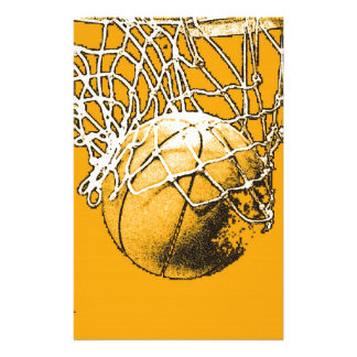 Basketball Pop Art Stationery