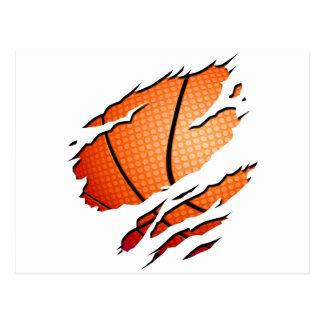 basketball post card