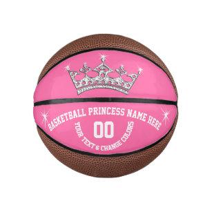 Basketball Princess Personalised Basketball Ball