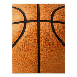 Basketball Print Pattern Background Photographic Print