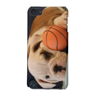 Basketball Puppy English Bulldog iPod Touch (5th Generation) Covers