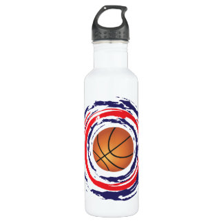 Basketball Red Blue And White 710 Ml Water Bottle