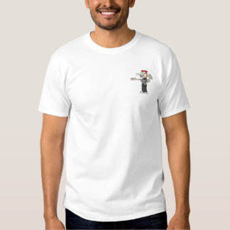 Basketball Ref Embroidered T-Shirt