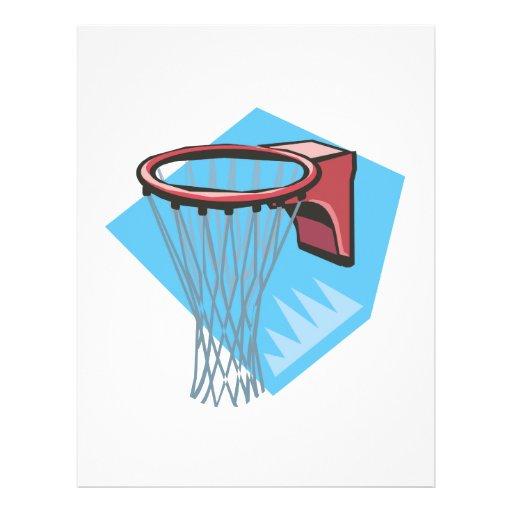Basketball Rim Personalized Flyer