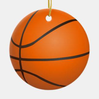 Basketball Round Ceramic Decoration
