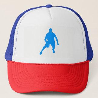 Basketball Silhouette Trucker Hat