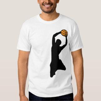 basketball silhouettes tshirts