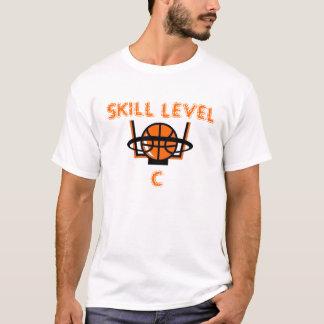 basketball, SKILL LEVEL, C T-Shirt