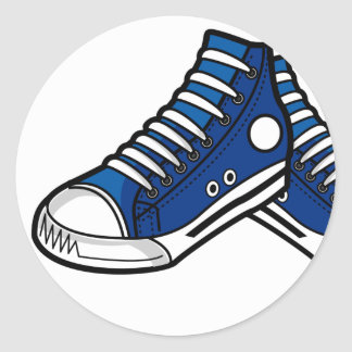 Basketball Sneaker Sticker