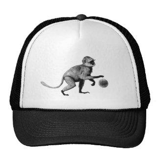 Basketball spider monkey trucker hat