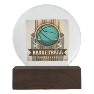Basketball Sport Ball Game Cool Snow Globe