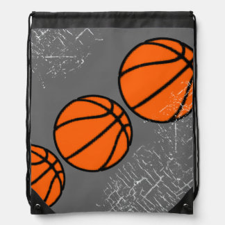 basketball sporting goods drawstring bag