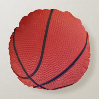 Basketball Sports Team Round Cushion
