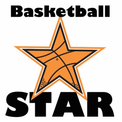 basketball star cut out