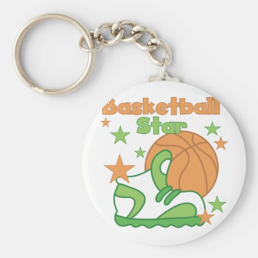 Basketball Star Shoe T-shirts and Gifts Key Chain