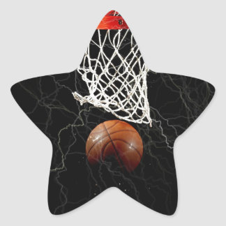 Basketball Star Stickers