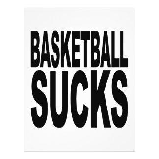 Basketball Sucks 21.5 Cm X 28 Cm Flyer