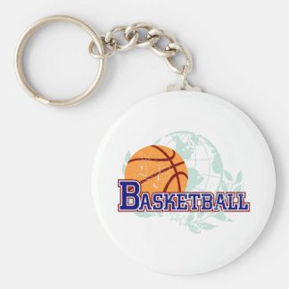 Basketball T-shirts and Gifts Key Ring