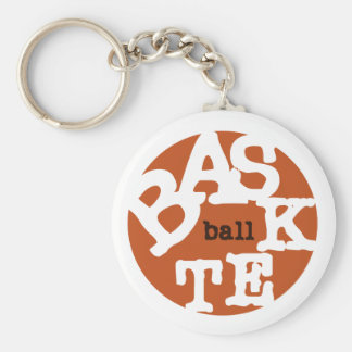 BASKETball T-shirts and Gifts Keychains