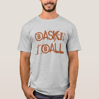 Basketball Text T-shirt