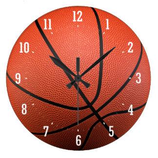 Basketball Texture | Time for Sport Wallclocks