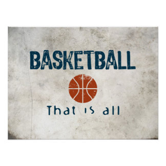 Basketball That Is All Print