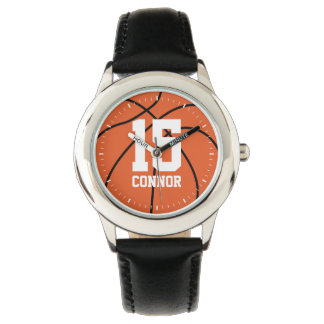 Basketball Themed Jersey Number Watch