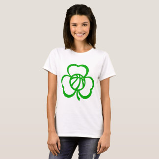 Basketball Three Leaf Clover T-Shirt